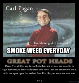 """marihuana reconsidered carl sagan essay In fact, he actually wrote an essay about marijuana use under a pseudonym, """"mr x,"""" that later appeared in the 1969 book, """"marihuana reconsidered"""" sagan wrote that marijuana enhanced."""
